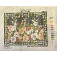 Printed needlepoint canvas