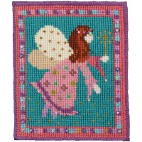Fairy needlepoint kit