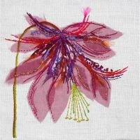 Aquilegia Embroidery