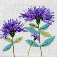 Cornflowers Embroidery