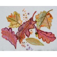 Fallen Leaves Embroidery