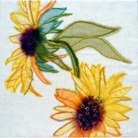 Sunflowers Embroidery