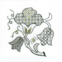Blackwork Tile 3