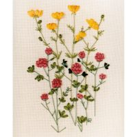 Ribbon Embroidery kit