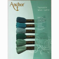 Anchor wool shade card