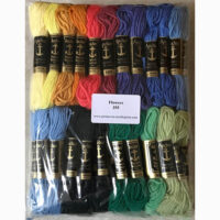 Printed needlepoint kit