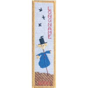 Canvas embroidery sampler