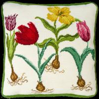 Tulip printed needlepoint kit