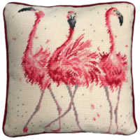 Flamingo tapestry kit
